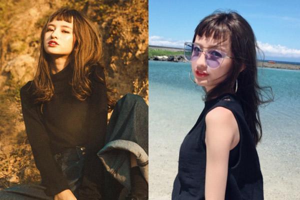 """Hot """"rần rật"""" kiểu tóc mái """"úp tô"""" nhìn chỉ muốn yêu của hotgirl Đài Loan dành cho mùa đông này"""