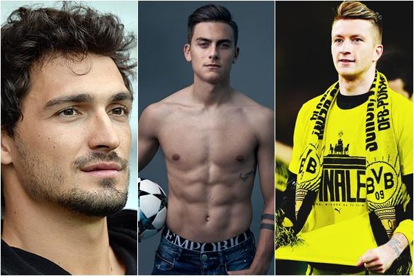 """Top 10 cầu thủ """"đẹp trai nhất thế giới"""" hứa hẹn sự tỏa sáng trong mùa World Cup 2018"""