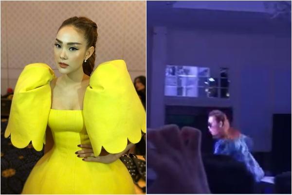 """Trực tiếp họp báo ra mắt The Face Vietnam 2018: Bị """"vồ ếch"""", Thanh Hằng cởi thẳng giày catwalk thị phạm, Minh Hằng không khác """"gà bông chiếp chiếp"""""""