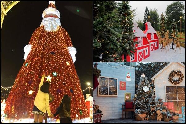 """Check-in ngay ở """"ngôi làng Bắc Âu"""" ngay sát Hà Nội có ông già Noel lớn nhất Việt Nam mùa Giáng sinh này!"""