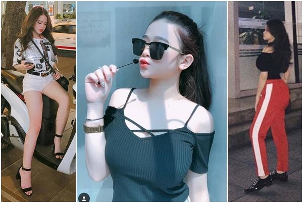 """Bắt chước Angela Phương Trinh, Linh Ka cũng cố """"ưỡn"""" để khoe mông ngực cho bằng được"""