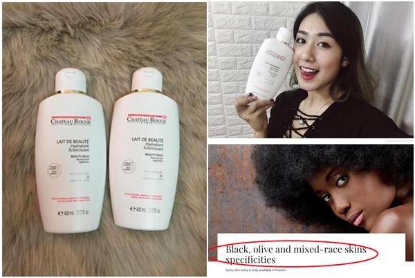 """Vạch trần sự thật kem dưỡng thể dành riêng cho người da đen và da màu của Pháp lại được """"tung hê"""" như kem kích trắng da ở Việt Nam"""