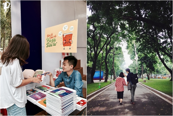 """Check-in Hội sách 2018 ở công viên Thống Nhất Hà Nội vừa có tri thức vừa được cả bộ ảnh đẹp """"nghìn like"""""""
