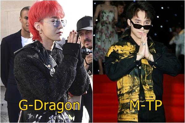 """Chỉ từ một cái chắp tay chào tạo dáng """"ngầu"""" trên thảm đỏ, Sơn Tùng lại làm dậy sóng nghi án """"đạo nhái"""" G-Dragon"""