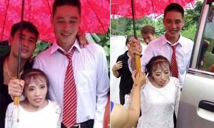 """Xúc động đám cưới """"bất chấp tất cả"""" của cặp đôi """"đũa lệch"""" ở Lạng Sơn"""