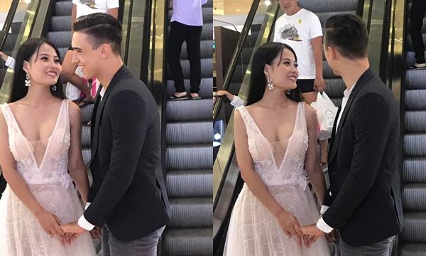 Chụp ảnh cưới ở thang máy, cô dâu xinh đẹp làm dân tình đứng hình vì nhan sắc, nhìn sang chú rể ngất lịm