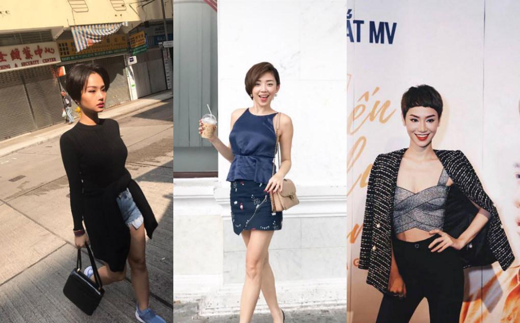 Thi nhau cắt tóc ngắn cá tính nhưng sao nữ Việt nào mới là người đẹp nhất?
