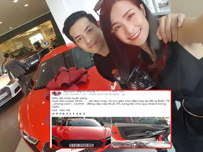 Vừa kỉ niệm 9 năm yêu nhau, Đông Nhi đã rao bán siêu xe được Ông Cao Thắng tặng