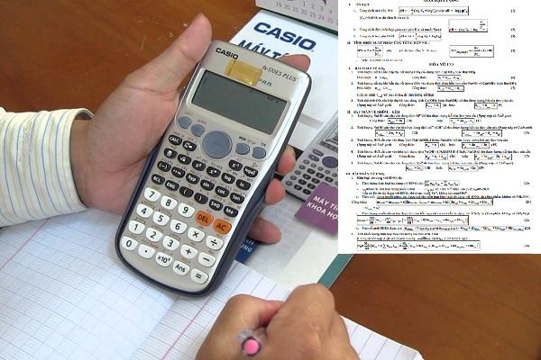 """Chỉ mất """"5s"""" để giải nhanh môn Hóa học bằng máy tính cầm tay với bộ 58 công thức"""