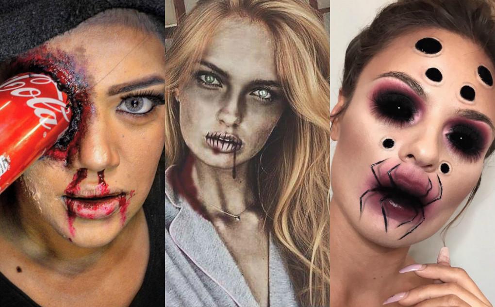 """""""Sởn da gà"""" với những màn hóa trang Halloween độc nhất của các beauty blogger thế giới"""