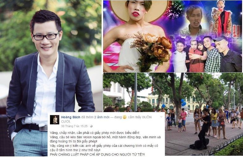 """Hoàng Bách """"đặt lên bàn cân"""" việc Tùng Sơn nhận cát-sê 30 triệu/show và cậu bé chơi đàn violon bị cấm"""