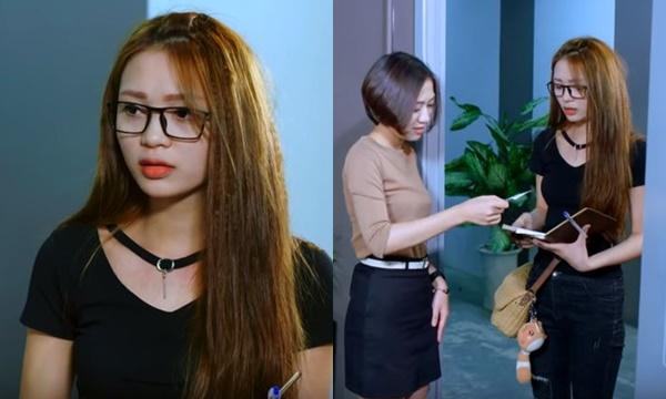 """""""Hot girl Trần Duy Hưng"""" lấn sân showbiz, vào vai nữ nhân viên thu tiền điện xinh đẹp khiến anh em sốc nặng"""