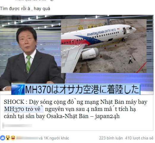 """Thực hư câu chuyện """"lỗ hổng thời gian"""" và sự trở về của chiếc máy bay MH370"""