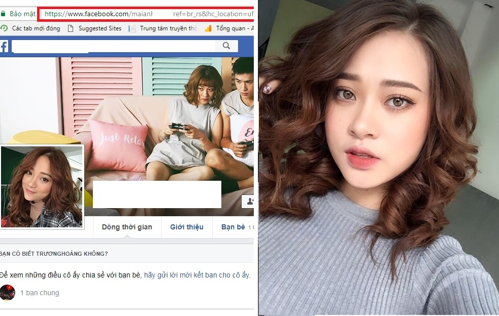 """Hot girl Trương Hoàng Mai Anh chửi khách vô văn hóa khi hỏi """"Set này bao nhiêu ạ?"""" đã khóa facebook sau khi bị cư dân mạng tấn công"""