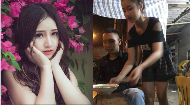 """Nhan sắc """"hot girl bán miến gà"""" xứ Nghệ khiến bao thực khách xao xuyến"""