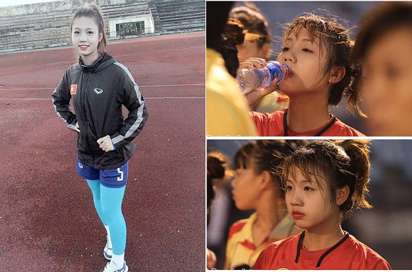 Nữ cầu thủ Việt Nam xinh đẹp như thiên thần khiến mọi chàng trai mê bóng đều muốn lấy làm vợ
