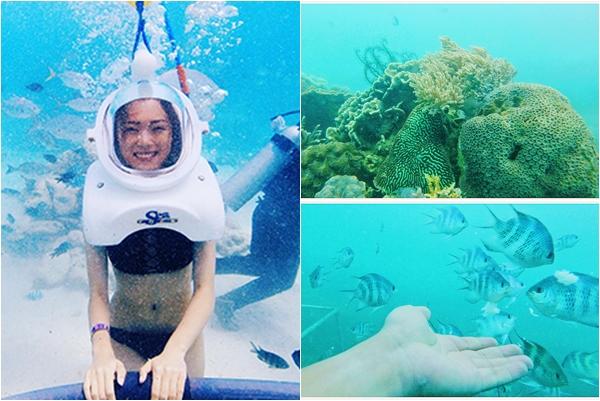 """Thử một ngày hóa """"mỹ nhân ngư"""" giữa lòng đại dương ở Cù Lao Chàm"""
