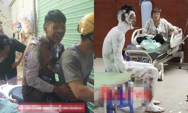 Bạn gái đòi chia tay, thanh niên mua xăng về tự thiêu sáng rực phòng trọ ở Bắc Ninh