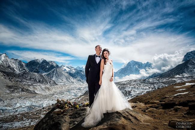Lễ cưới trên đỉnh Everest - Trải nghiệm điên rồ không phải cặp đôi nào cũng dám làm