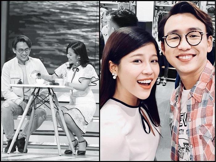 """Đồng ý lời tỏ tình trong """"Vì yêu mà đến"""", MC Quang Bảo lại tuyên bố chỉ coi cô gái là """"em gái mưa"""" ngoài đời"""