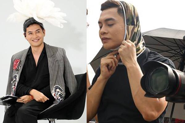 """Host Nam Trung soán ngôi các """"thánh lầy"""" showbiz với phong cách phi giới tính, đội cả thứ này lên đầu khi ra đường"""
