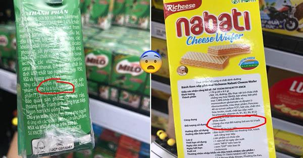 Khuyến cáo về các sản phẩm không nên dùng cho trẻ em, gây dậy thì sớm