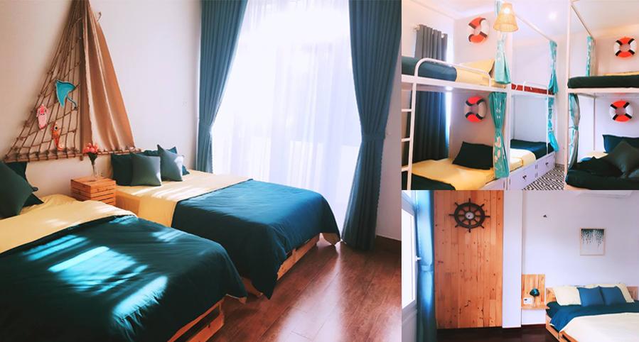 """Có điều gì đặc biệt ở hostel """"đặc vị biển khơi"""" nằm ngay giữa lòng thành phố Đà Nẵng xinh đẹp?"""