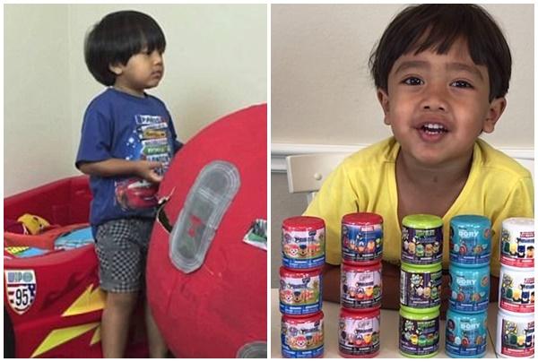 Cậu bé 6 tuổi kiếm cả triệu đô mỗi tháng với kênh YouTube review đồ chơi