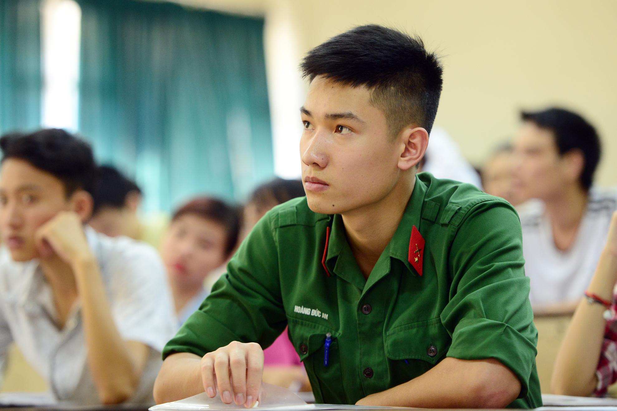 Trường quân đội đề nghị hơn 1.800 thí sinh đã qua sơ tuyển kiểm tra lại nguyện vọng xét tuyển