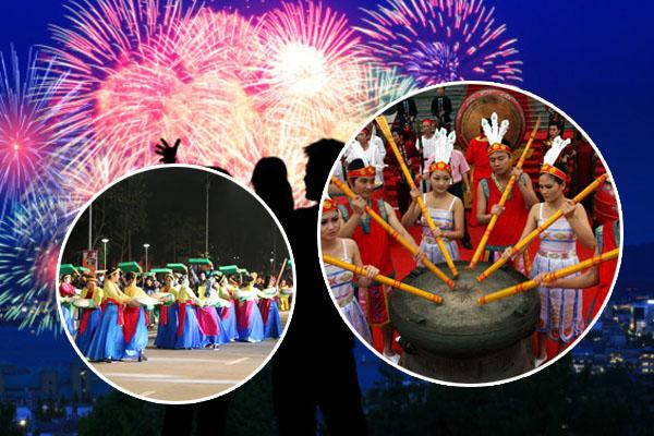 """Pháo hoa rợp trời Phú Thọ dịp 10/3 âm lịch tới, sẵn sàng lên đồ """"trẩy hội"""" ngay thôi nào!"""