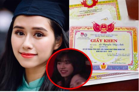 """Đập tan chỉ trích """"mặt xinh não ngắn"""", hot girl Táo Quân tung giấy khen thành tích cực khủng khiến dân mạng """"câm lặng"""""""