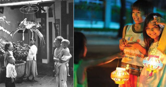 Xin một vé về tuổi thơ: Bạn còn nhớ trung thu của ngày xưa mộc mạc, giản dị như thế nào không?