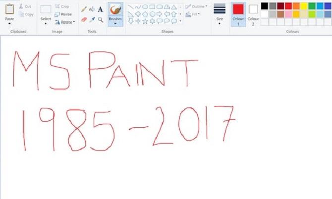 Không cần phải tiếc cho Microsoft Paint vì làm gì có chuyện nó bị khai tử