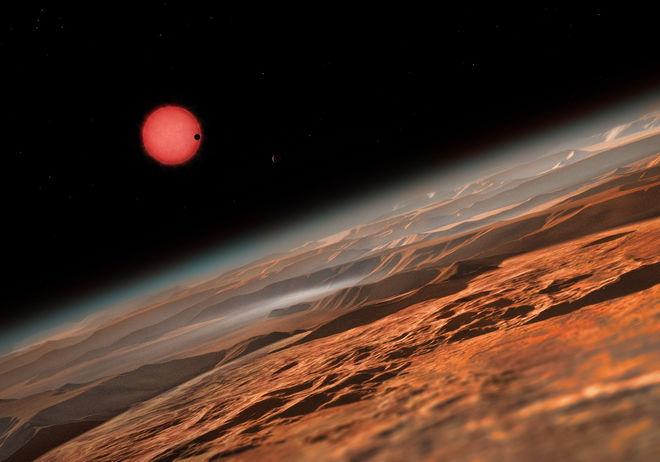 7 hành tinh giống Trái Đất vừa phát hiện: Mất 800.000 năm để đặt chân tới