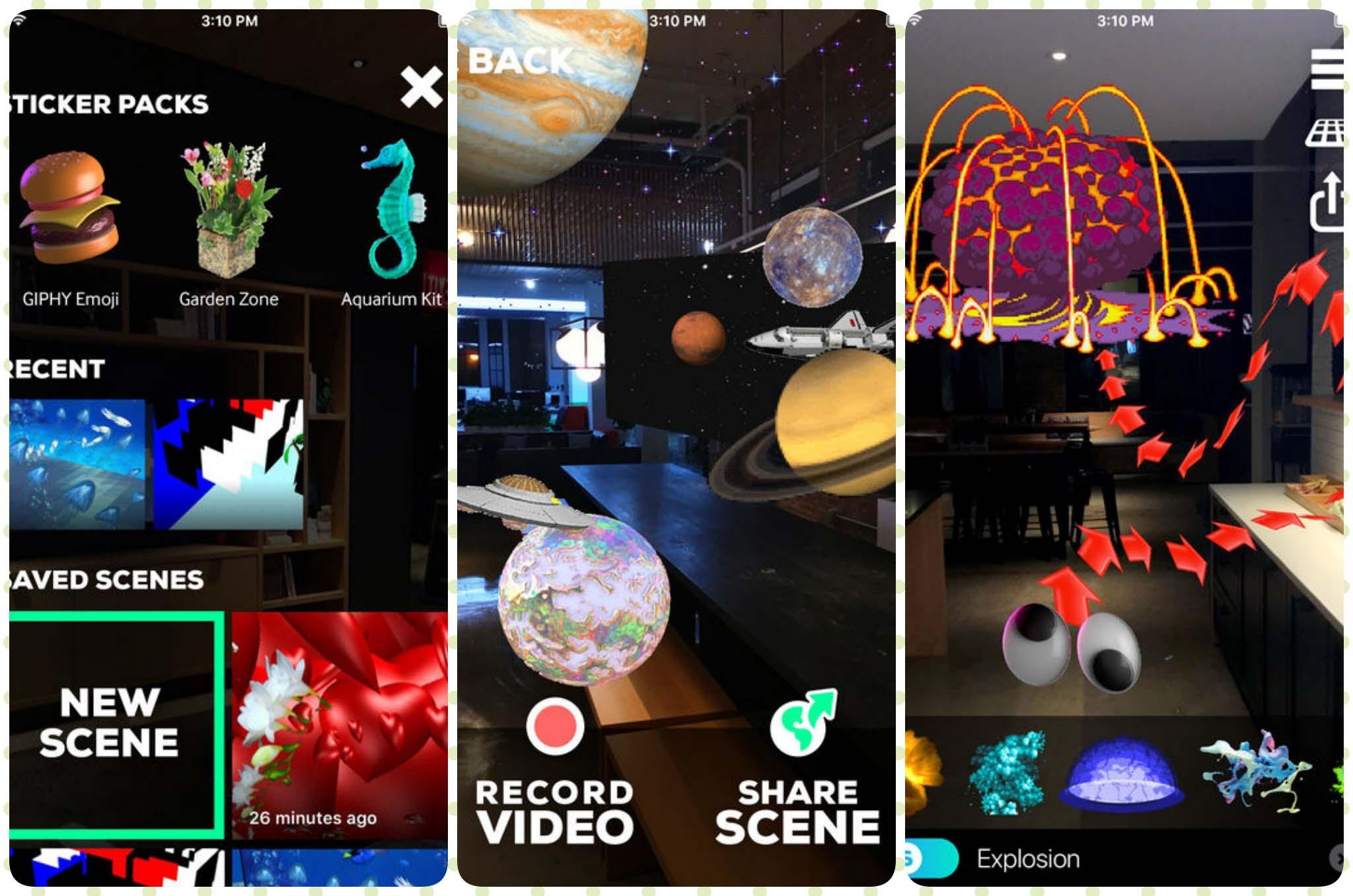 7 ứng dụng miễn phí sử dụng công nghệ thực tế tăng cường AR trên iOS 11