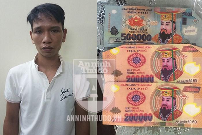 Đã bắt được đối tượng trả tiền thừa bằng tiền âm phủ cho khách Tây ở Hà Nội