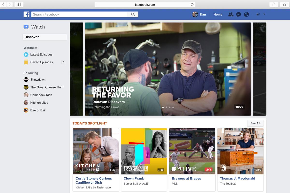 Facebook đầu tư 1 tỷ USD để chi trả cho các nhà phát triển nội dung video?