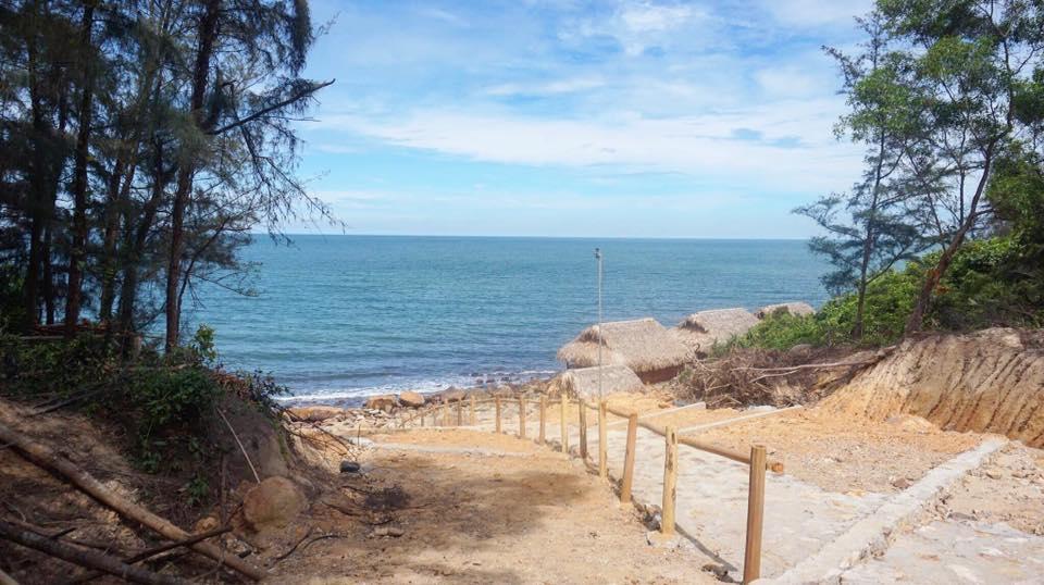 Một góc trong khu sinh thái Nghi Sơn Eco Island