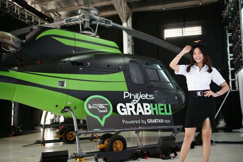 """Grab chuẩn bị thử nghiệm dịch vụ """"taxi bay"""" GrabHeli giúp chống tắc đường"""