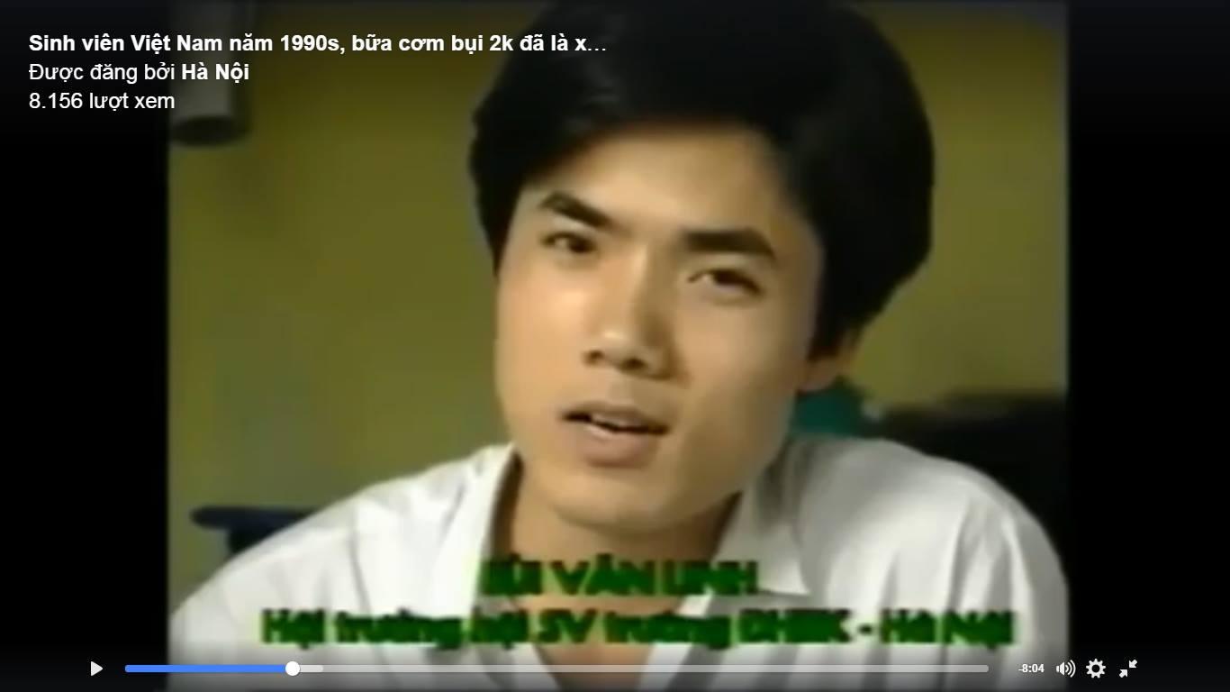 """Sửng sốt phát hiện """"hot boy"""" trong phim tài liệu hơn 20 năm trước làm lãnh đạo"""
