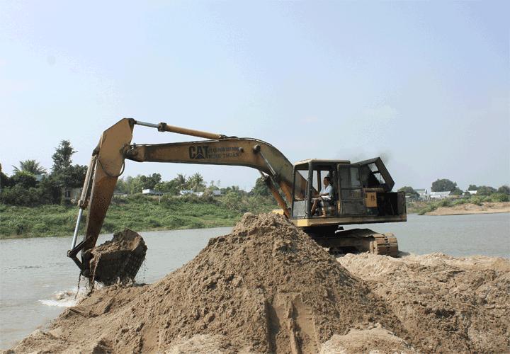 Thế giới tiêu thụ khoảng 40 tỷ tấn cát xây dựng mỗi năm và chúng sắp cạn kiệt
