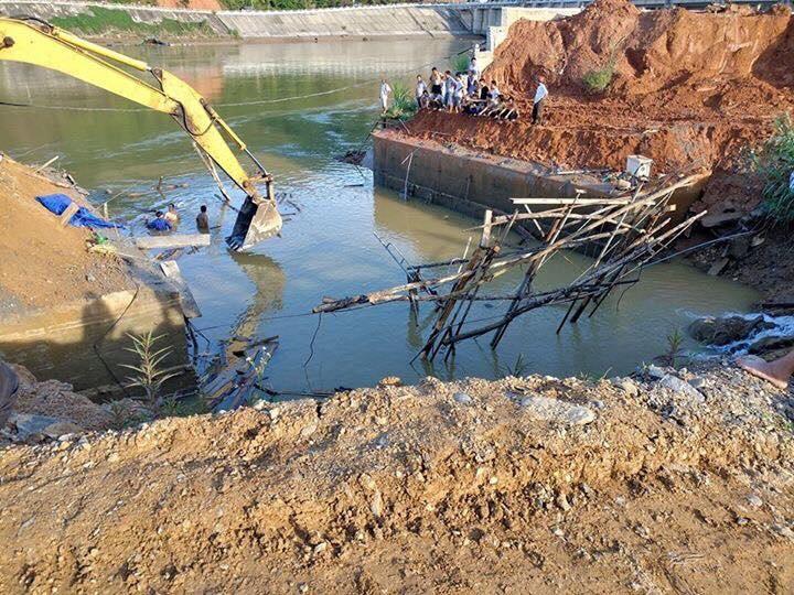3 công nhân mất tích trong vụ sập cầu ở Tuyên Quang khó lòng sống sót