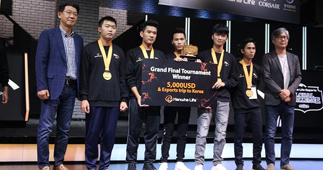 Trận chung kết giải đấu Hanwha Life Esports 2018: Global Challenge Team thắng xuất sắc