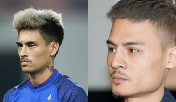 Cầu thủ Thái Lan bất ngờ được fan Việt chú ý ở AFF Cup vì quá giống Hoa Vinh