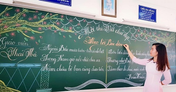Chiêm ngưỡng nét chữ đẹp như rồng bay phượng múa của 16 cô giáo ở Vũng Tàu