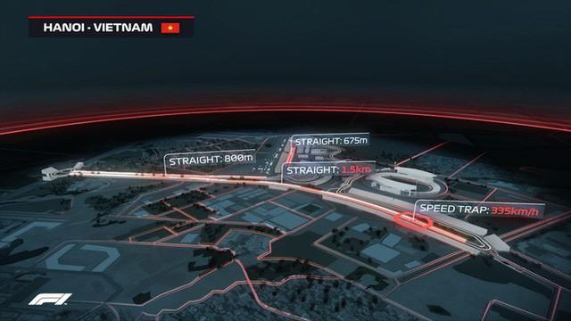 Thiết kế đường đua F1 vô địch thế giới tại Hà Nội hội tụ ưu điểm của nhiều đường đua nổi tiếng