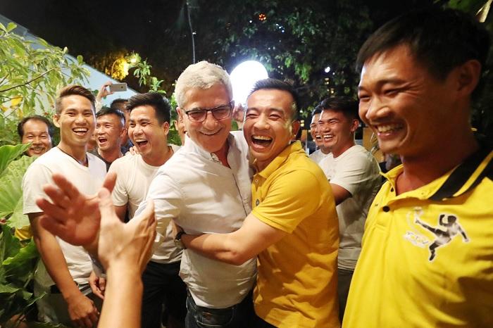HLV Calisto hội ngộ thế hệ ĐT Việt Nam vô địch AFF Cup 2008, thắp lửa tinh thần chinh phục AFF Cup 2018