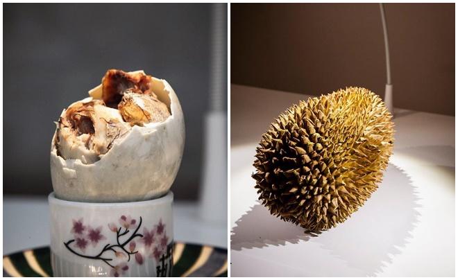 Trứng vịt lộn, sầu riêng được trưng bày trong bảo tàng những món ăn ám ảnh nhất thế giới