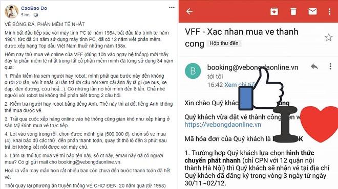 """Một công ty Nhật vận hành website bán vé online của VFF, chuyên gia chê đây là """"phần mềm tệ nhất"""""""
