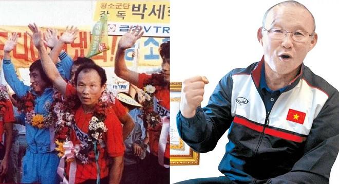 HLV Park Hang-seo từng vô địch Hàn Quốc thời còn là cầu thủ, suýt bỏ bóng đá để dạy học